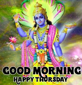 vishnu ji Good Morning Happy Thursday photo hd
