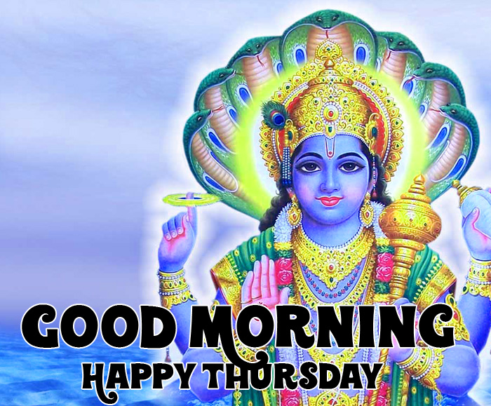 vishnu ji Good Morning Happy Thursday photo