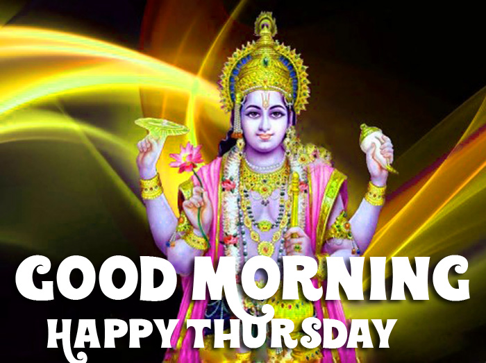 vishnu ji Good Morning Happy Thursday pics hd