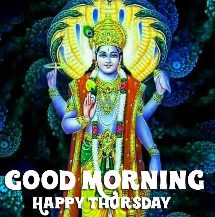 vishnu ji Good Morning Happy Thursday pics