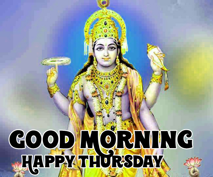 vishnu ji Good Morning Happy Thursday picture