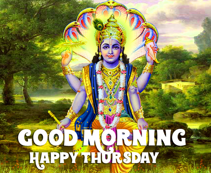 vishnu ji Good Morning Happy Thursday