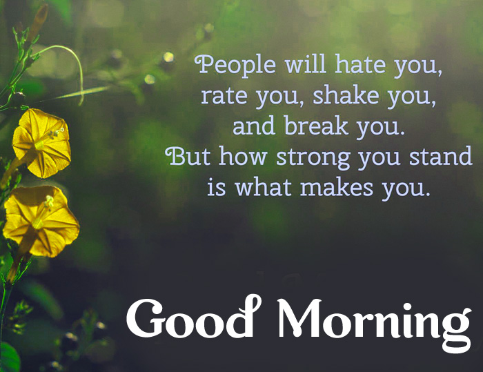Good Morning Motivational text photo for whatsapp hd